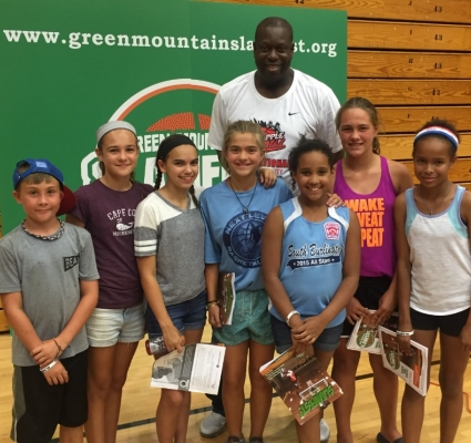 BASKETBALL LEGEND, ED PINCKNEY TRAVELS TO VERMONT W/ BAB