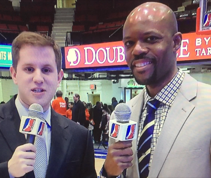 WATCH JASON CURRY WORKING ON MSG AS AN ANALYST