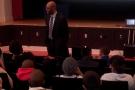 BAB PREZ, JASON CURRY SPEAKS TO YOUTH IN FAR ROCKAWAY